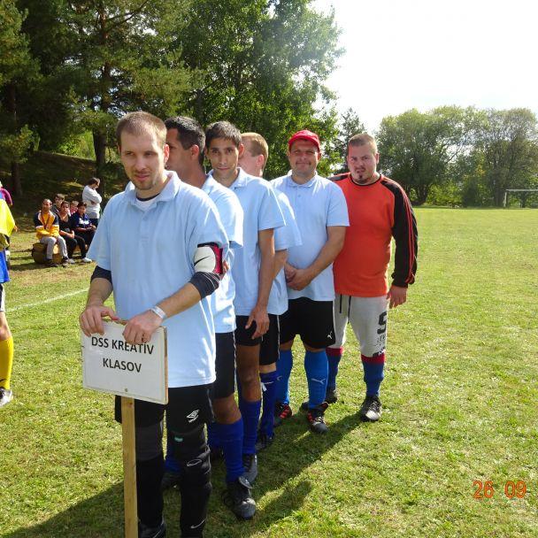 """Futbalový turnaj v domov sociálnych služieb """"Hrabiny"""", Nová Baňa"""