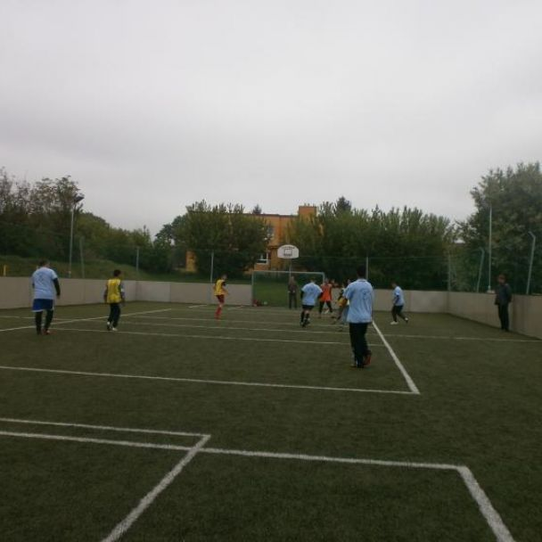 Futbalový zápas so ZŠ Klasov