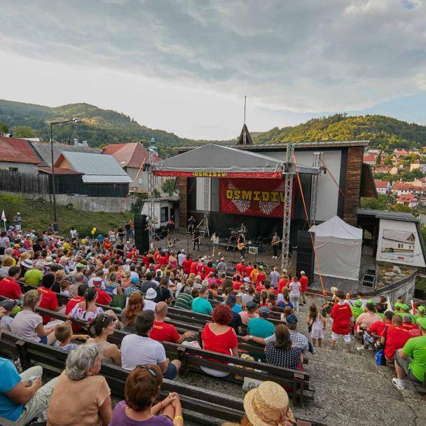 "Benefičný koncert ""Osmidiv"", Banská Štiavnica"