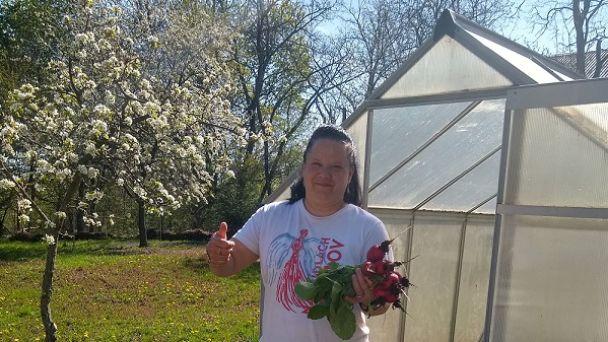 Jarné práce v našej záhradke